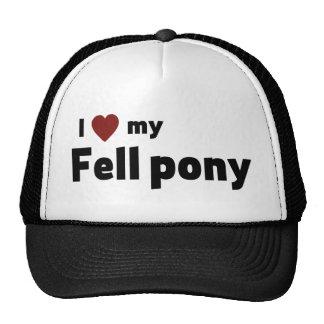 Fell pony trucker hat
