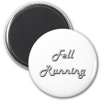 Fell Running Classic Retro Design 2 Inch Round Magnet