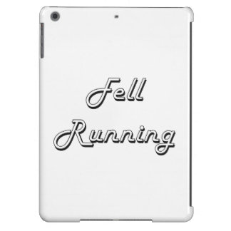 Fell Running Classic Retro Design Case For iPad Air