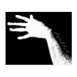 FELLA HAND POSTCARD