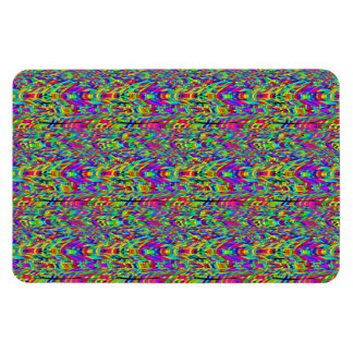 Felling dizzy rectangle magnets