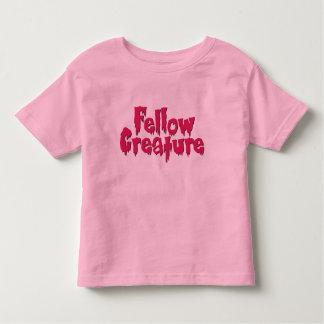 Fellow Creature Horror Movie Hot Pink Tshirt