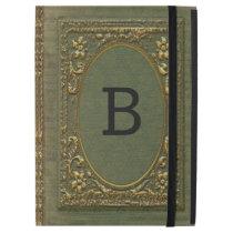 "Fellowby Pro Old Book Style Monogram iPad Pro 12.9"" Case"