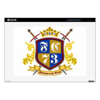 """Fellowcraft Club 15"""" Laptop Skin"""