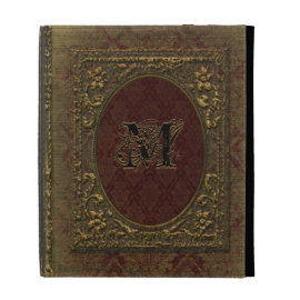 Fellowsbey Baileen Victorian Old Book Style iPad Case