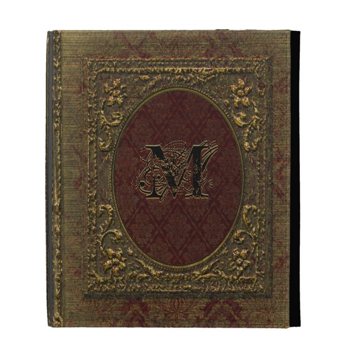 Vintage Book Cover For Ipad : Fellowsbey baileen victorian old book style ipad folio