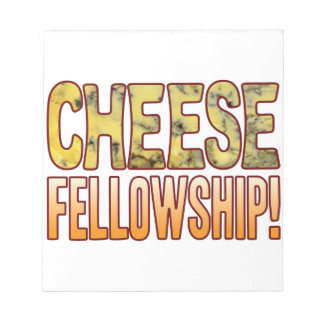 Fellowship Blue Cheese Notepad