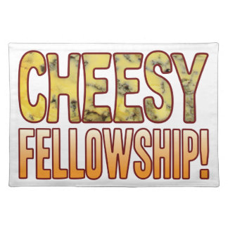 Fellowship Blue Cheesy Placemat
