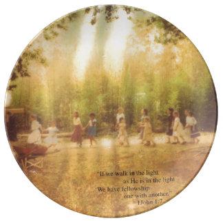 Fellowship Plate