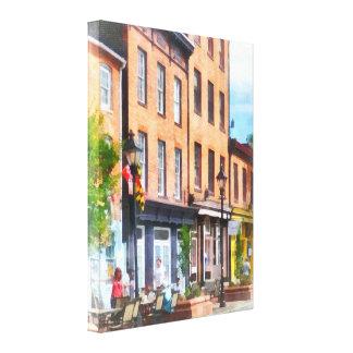 Fells Point Street Canvas Print