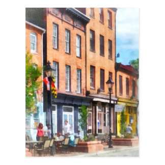 Fells Point Street Postcard