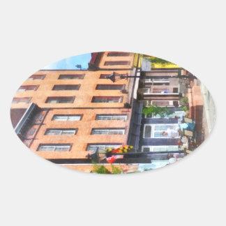 Fells Point Street Oval Sticker