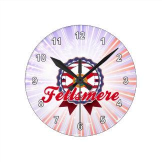 Fellsmere FL Round Wall Clocks