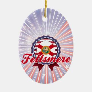 Fellsmere FL Christmas Ornament