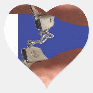 Felonious Bolognius Instigators Heart Sticker