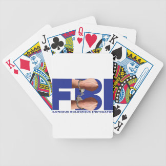 Felonious Bolognius Instigators Bicycle Playing Cards