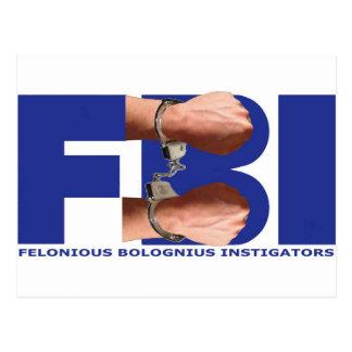 Felonious Bolognius Instigators Postcard