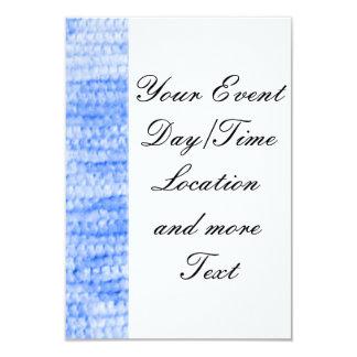 """felpilla punteada grande, azul invitación 3.5"""" x 5"""""""