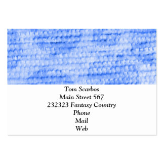 felpilla punteada grande, azul tarjeta personal