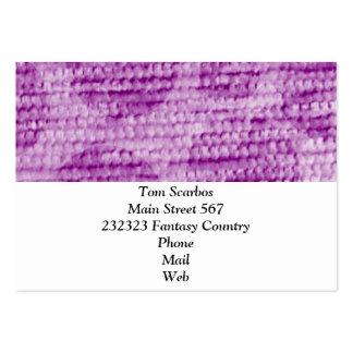 felpilla punteada grande, rosada plantilla de tarjeta de negocio