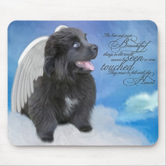 Felt by the heart! mouse pad