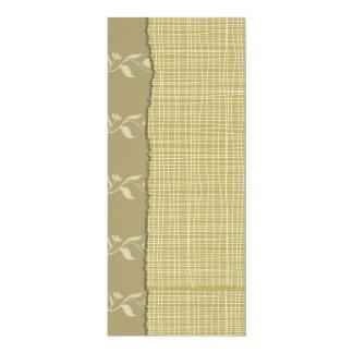 "Felt Paper 4"" x 9.25"" Special Event Soft Floral Card"