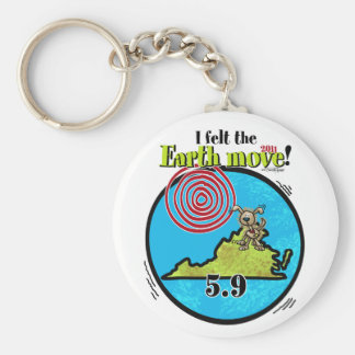 Felt the Earth move - VA 5.9 Basic Round Button Keychain