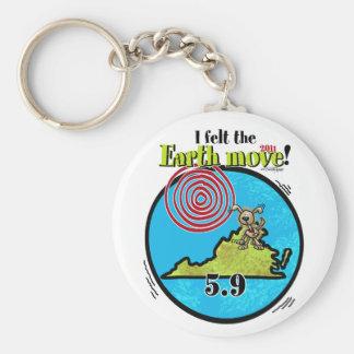 Felt the Earth move - VA 5.9 Keychain