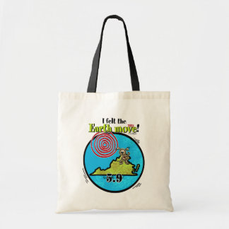 Felt the Earth move - VA 5.9 Tote Bag