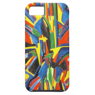 Felt Tip Abstract Babylon I-Phone Case Case For The iPhone 5