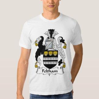 Feltham Family Crest Tee Shirt