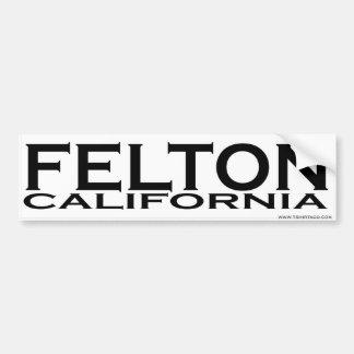 Felton, pegatina para el parachoques de CA Pegatina Para Auto
