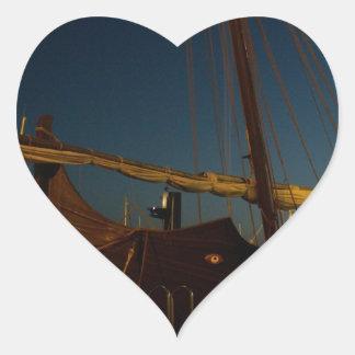 Felucca Almariya Heart Sticker