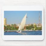 Felucca en el Nilo Tapete De Raton