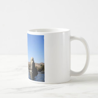 Felucca sailing on the Nile in Egypt picture Coffee Mug
