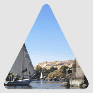 Felucca sailing on the Nile in Egypt picture Stickers