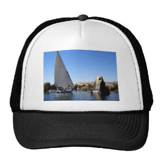 Felucca sailing on the Nile in Egypt picture Trucker Hat