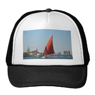 Felucca With Red Sail Trucker Hat