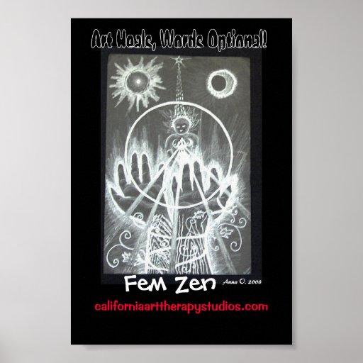 Fem- Zen - poster