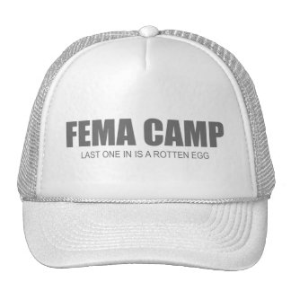 FEMA CAMP TRUCKER HAT