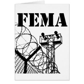 FEMA  Camps Card