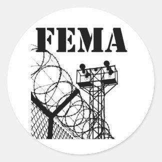 FEMA  Camps Classic Round Sticker