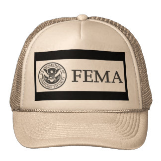 FEMA TRUCKER HAT