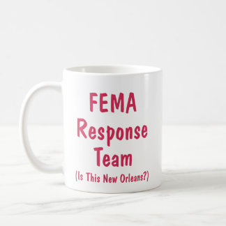 FEMA Response Team - Cup Classic White Coffee Mug