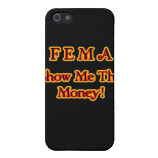 FEMA Show Me The Money! Fire Text iPhone SE/5/5s Cover