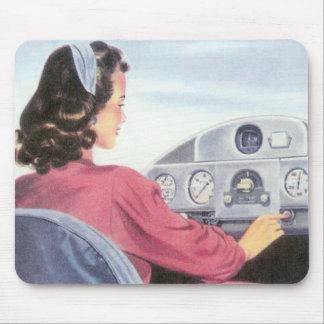 Femal Pilot Mousepad