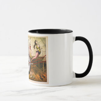 Female Acrobats 1890 Mug