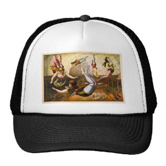 Female Acrobats 1890 Trucker Hat