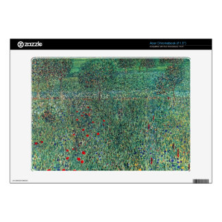 Female act with Animals by Gustav Klimt Acer Chromebook Skins