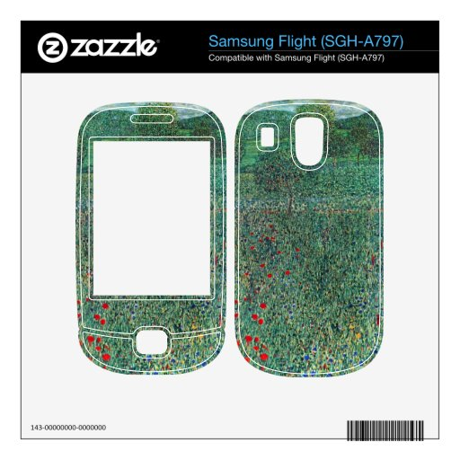 Female act with Animals by Gustav Klimt Decal For Samsung Flight